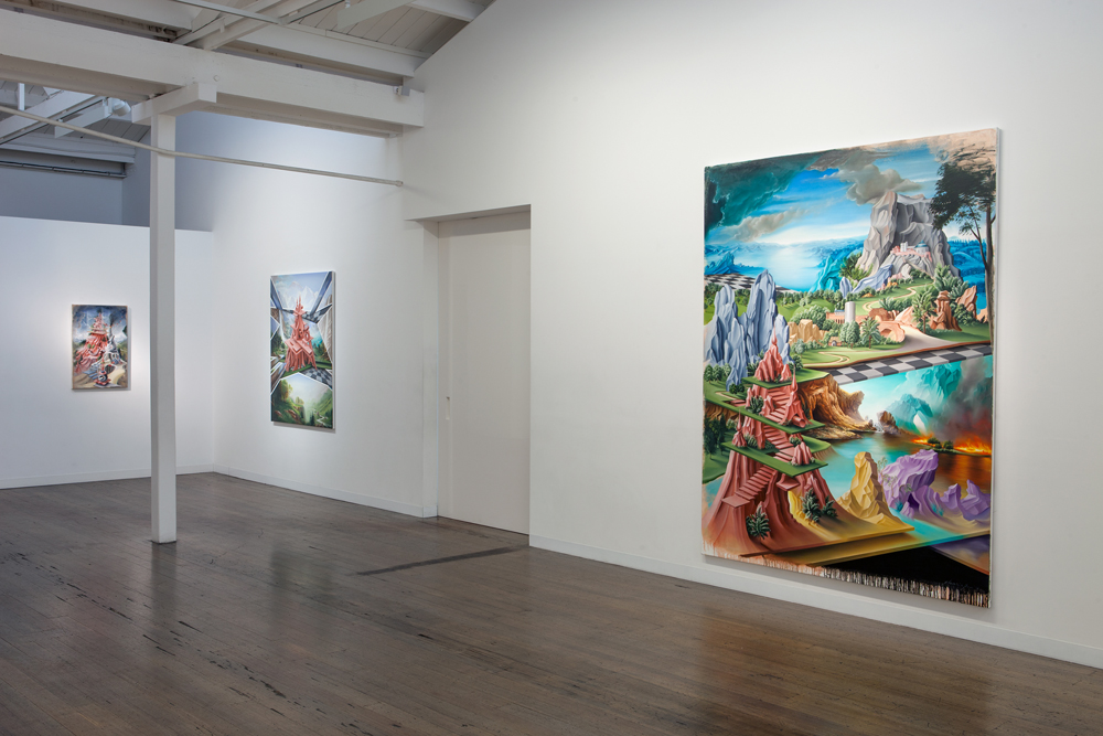 Because Painting , 2014, Installation View