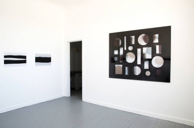 Jacky Redgate,  Light Throw (Mirror) #8 , 2011, C-type photographs (hand-printed from original negative) Facemount to UV Perspex, 126 x 158cm
