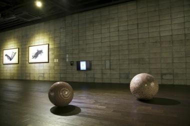 Justine Khamara,  Now I Am Radiant People 5 & 3 part of the exhibition  Vertigo at POSCO Art Museum, Seoul, South Korea.