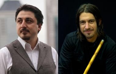 Ahmet Erdogdular (left); Peter Daverington (right). Erdogdular photo by Ali Osman Erdogdular; Daverington photo courtesy of the artist.