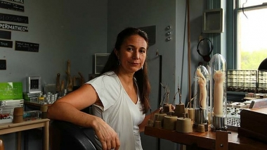 Image: by Tamara Dean. Maria Fernanda Cardoso wins Australia Council grant to video insect sex , The Age, 22 May 2014.