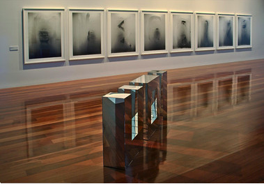Eugenia Raskopoulos, installation view, Anne & Gordon Samstag Museum of Art, SA, 2010.