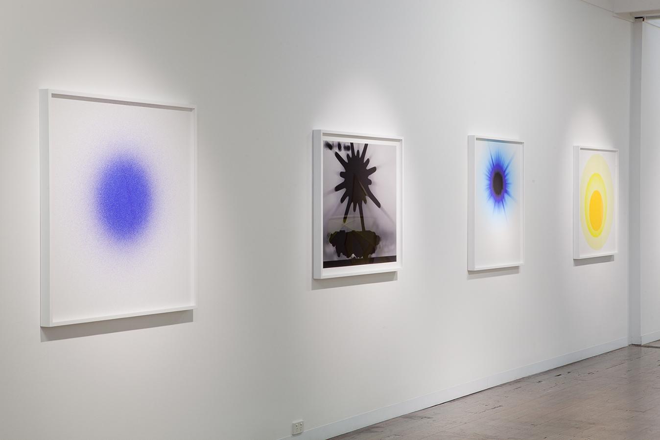 NIKE SAVVAS    Sparks  Exhibition View, 2014