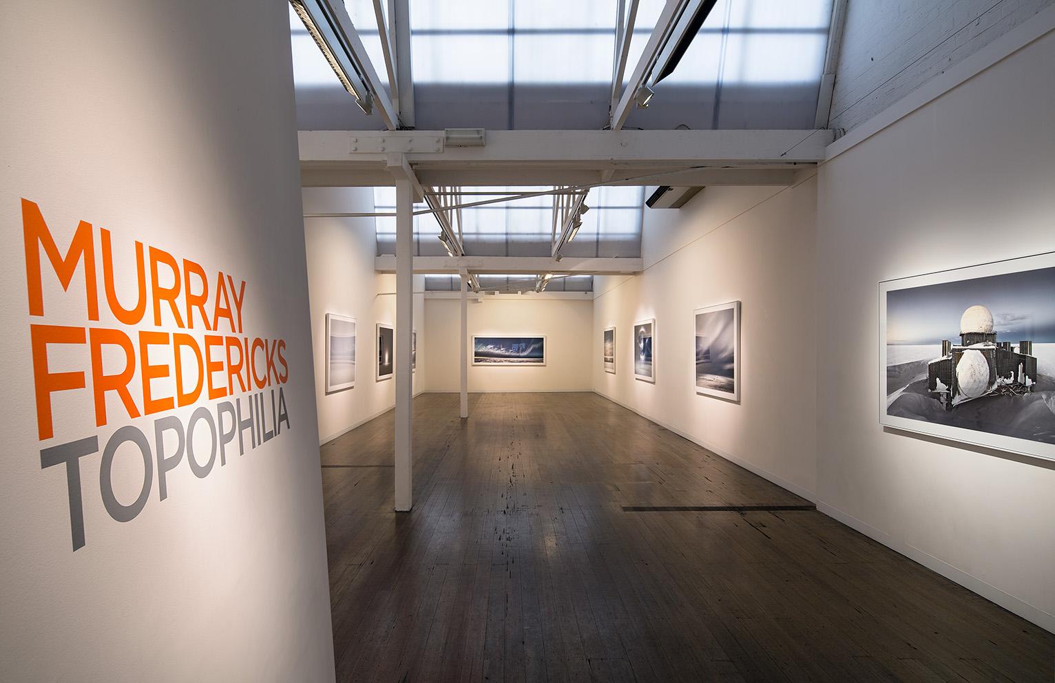 MURRAY FREDERICKS    Topophilia, Exhibition View, 2014