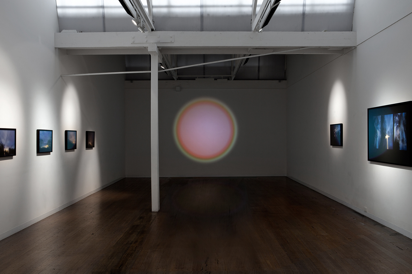 ANNE SCOTT WILSON    Installation view of  Fly Rhythm  2013