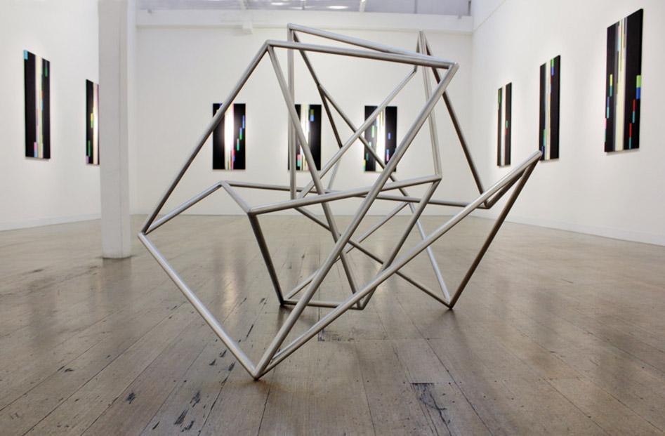 ROBERT OWEN    Fallen Light ,Installation view 2012