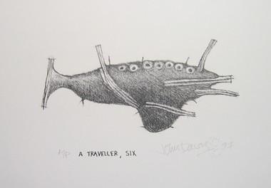 JOHN DAVIS    Traveller 6    1997   18 x 27 cm