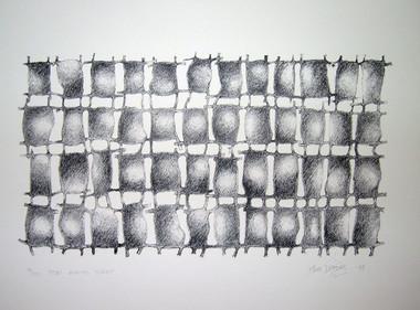 JOHN DAVIS    For Arvo Part    1997   Lithographs  45 x 58 cm