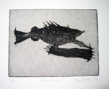 JOHN DAVIS    Nomad #122    1997   Lithograph   28 x 38 cm