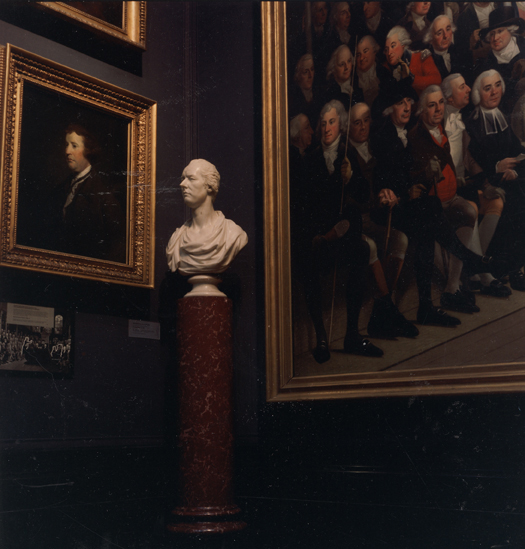 ANNE ZAHALKA    National Portrait Gallery #2, London  2010   Type C Photograph, Edition of 5   80 x 80 cm