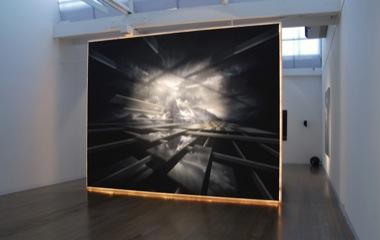 PETER DAVERINGTON    The Empire    2009   Acrylic on Panels   330 x 440 cm