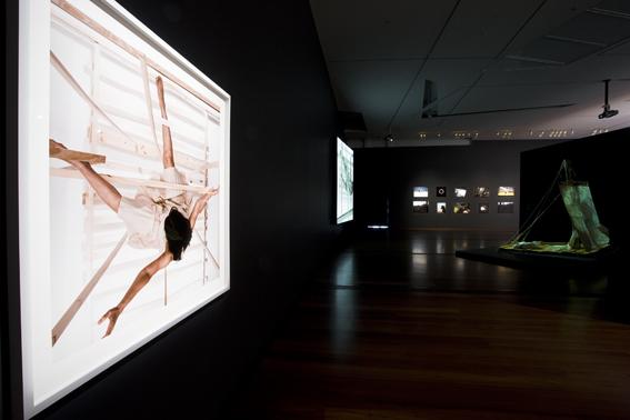 JULIE RRAP    Escape Artist: Castaway  2009 Installation at the National Gallery of Victoria, Ian Potter Building, Melbourne