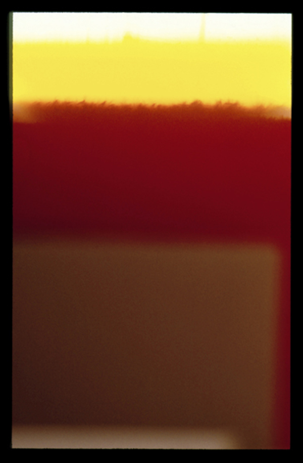 ROBERT OWEN     Endings (Rothko died today) - Kodachrome 64, No 21. 26/02/1970  2009 Archival Print on 310gms Carsons BSK Reeves Paper edition of 7 72.5 x 104 cm