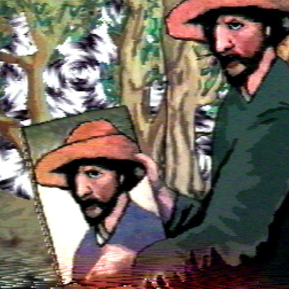 PETER CALLAS     Oz Gogh  2004 Chromogenic print edition of 10   100 x 100 cm
