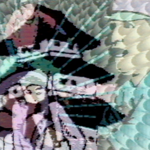 PETER CALLAS     Baseball Ninja  2003 Chromogenic print edition of 10 100 x 100 cm