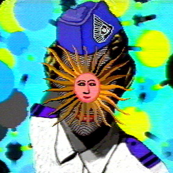 PETER CALLAS     Sun Blind  2003 Chromogenic print edition of 10 100 x 100 cm