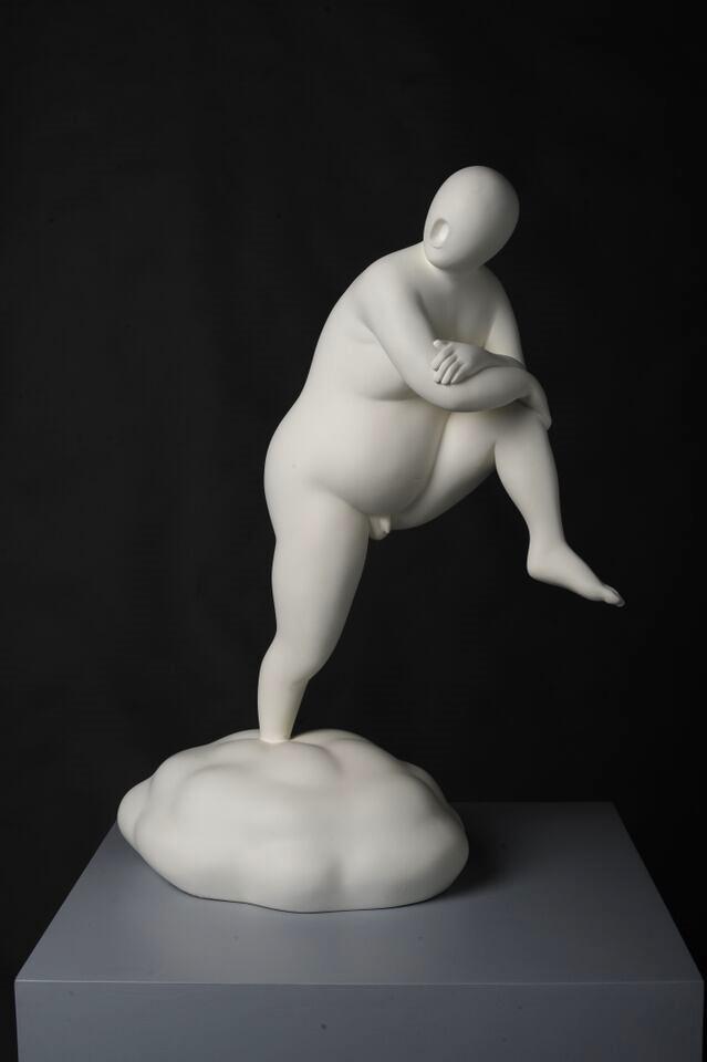 Cloud No.1 , 2009, Bronze Statue, 55 x 41cm