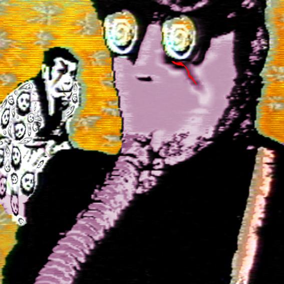 Gas Man , 2003, Chromogenic print edition of 10, 100 x 100 cm,