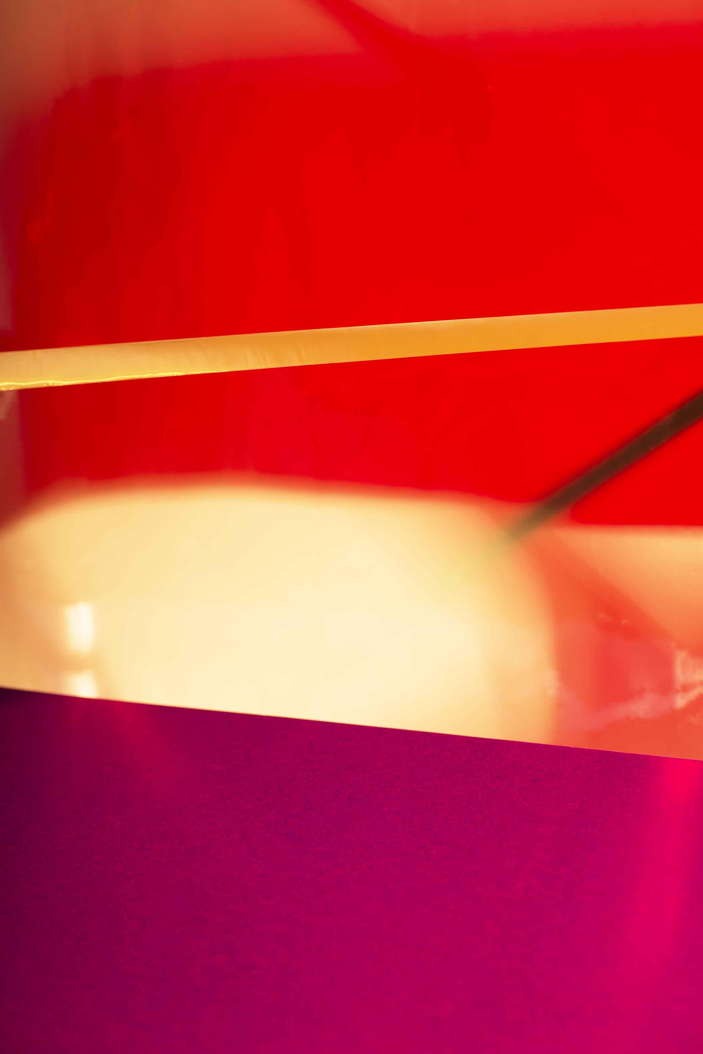 LYDIA WEGNER   Sunset Red  2015 Archival Inkjet Print 78 x 52 cm