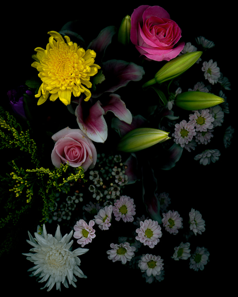 HUANG XU   Flower No.21  2015 Giclee print, edition of 6  110 x 88 cm