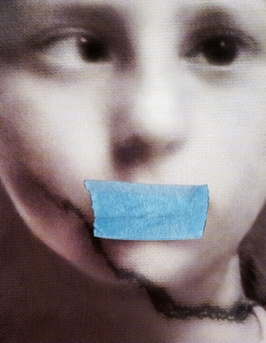 Pat Brassington,  The Secret , 2010, pigment print, 80 x 62cm.