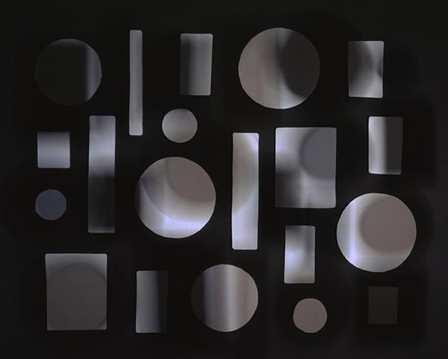 JACKY REDGATE   Light Throw (Mirrors) #8  2011 C-type photograph (hand-printed from original negative) 126 x 158 cm