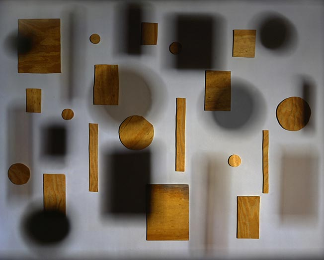 JACKY REDGATE   Light Throw (Mirrors) #2  2009-10 C-type photograph (hand-printed from original negative) 126 x 158 cm