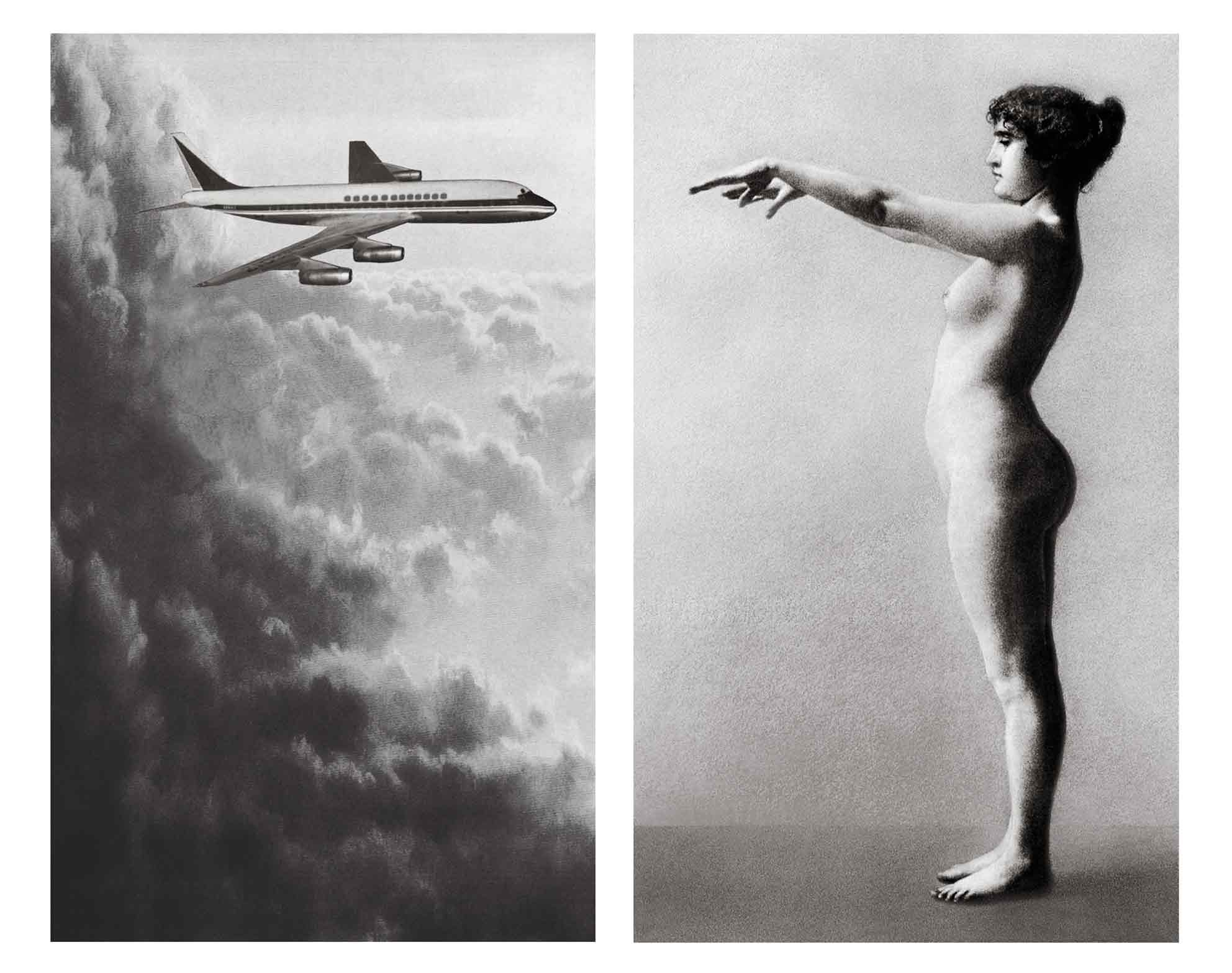 PAT BRASSINGTON   Home and Away  2016 Pigment print Diptych (each 133 x 80 cm)