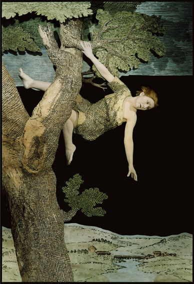 ROSE FARRELL GEORGE PARKIN     Edge of the Divide, Act Seven  2004-2005 Type C Colour Photograph edition of 10 146 x 100 cm