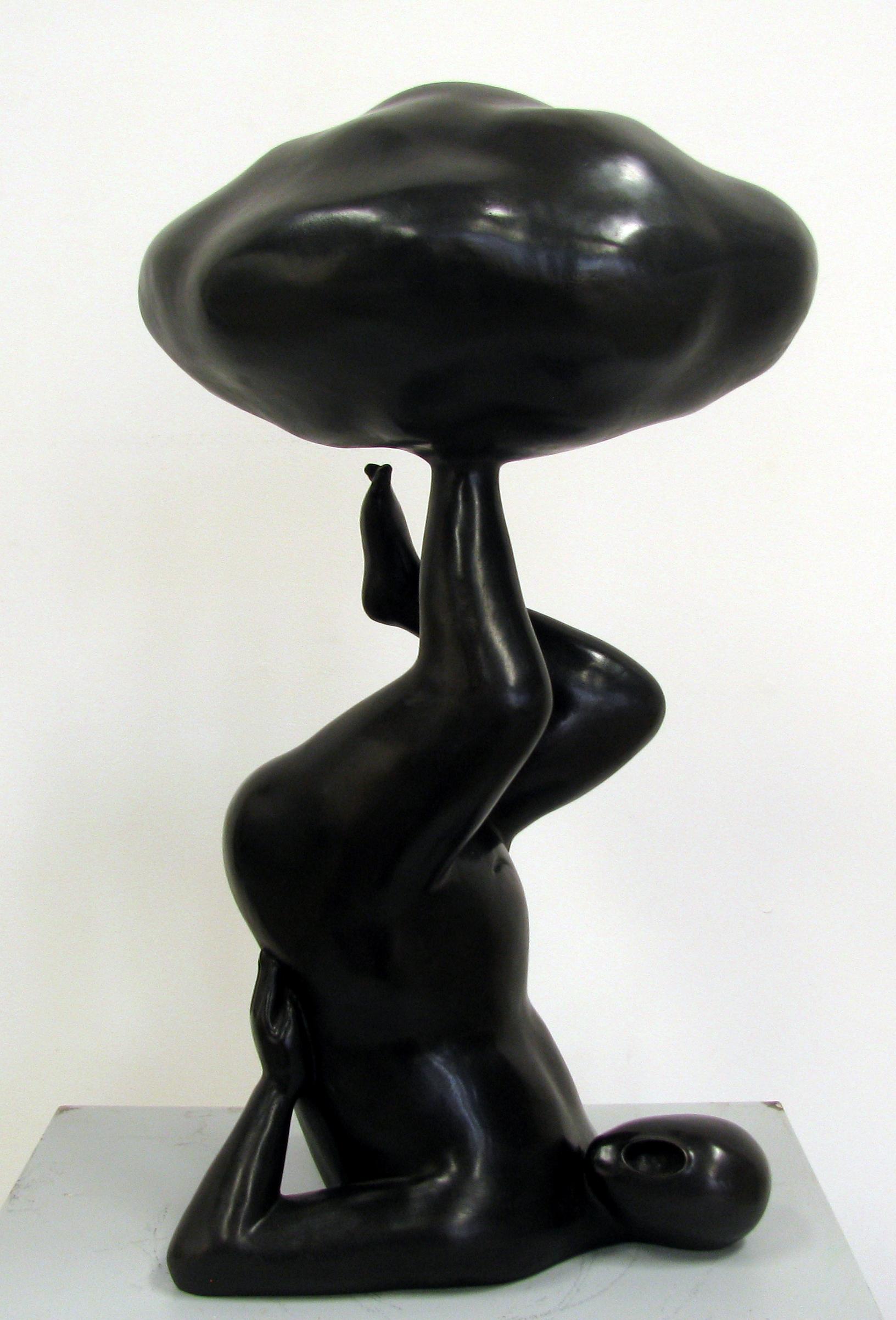 GUAN WEI   Up in the Clouds No. 4   2012   Bronze Sculpture   60 x 36 cm