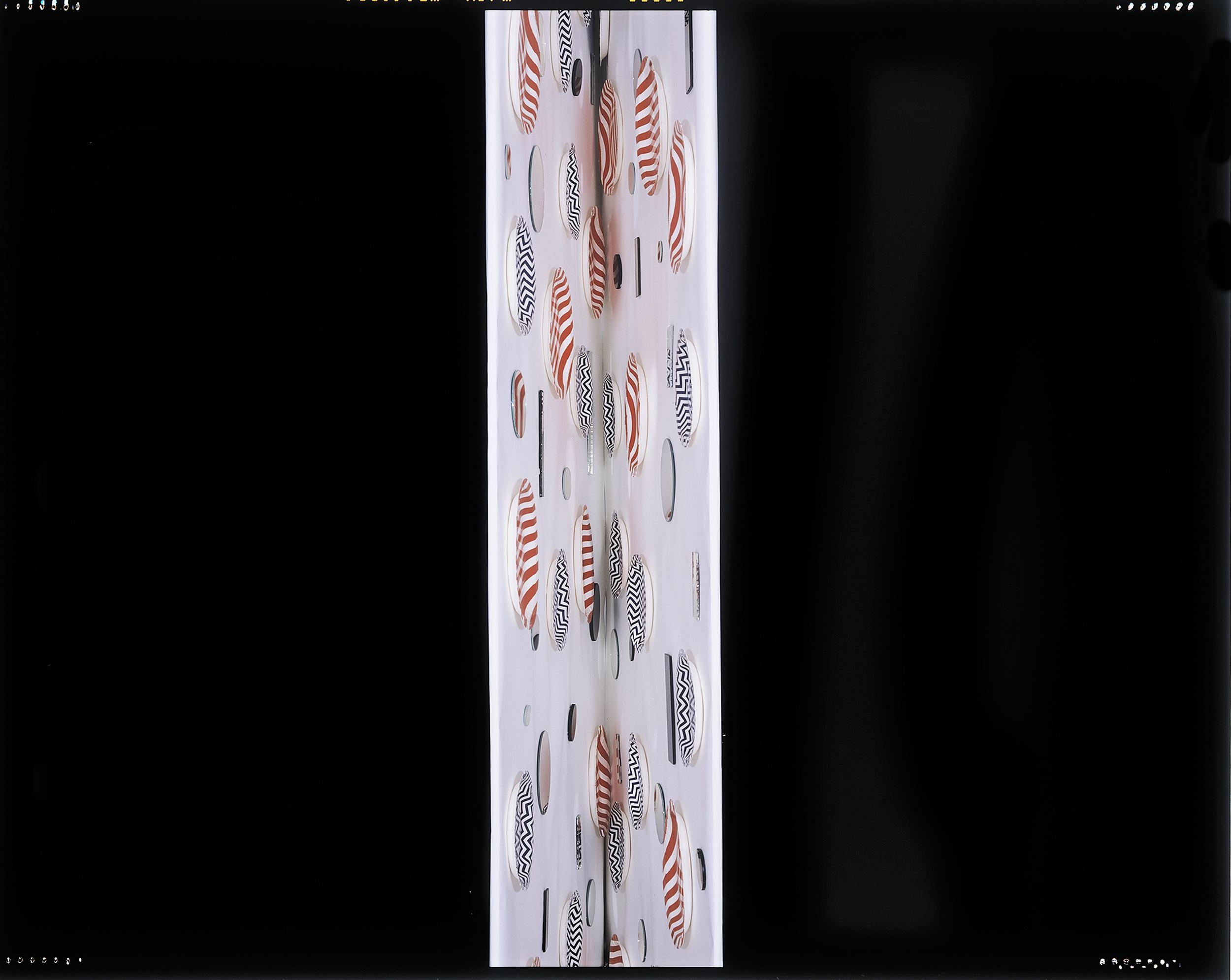 JACKY REDGATE   Light Throw (Mirrors) Fold #1   2014-15   chromogenic photograph   202 x 275.5 cm