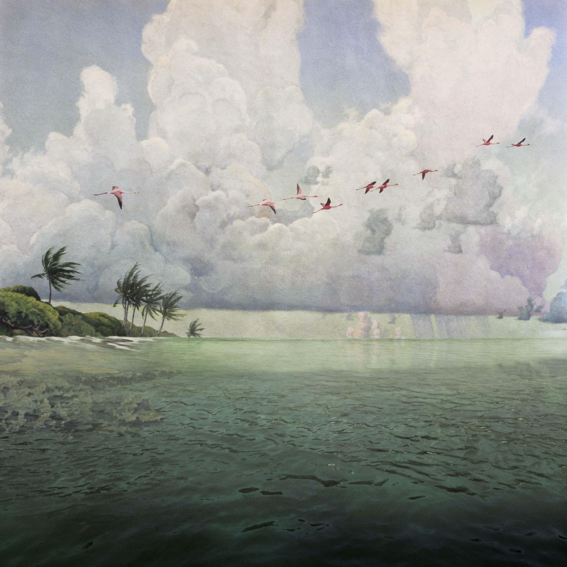 ANNE ZAHALKA     Rising Tide  2006/07 Type C photograph edition of 10   80 x 80 cm