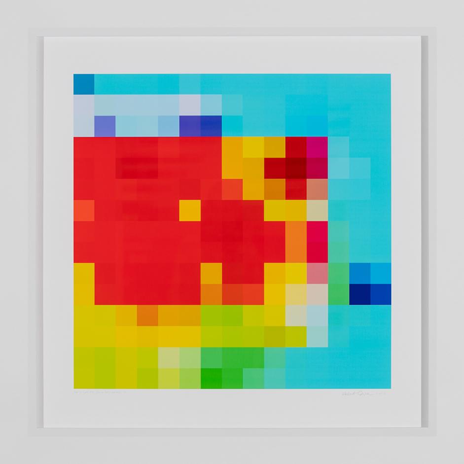 ROBERT OWEN   Inside the Crystal #20  2014-2016 Inkjet print on 310gsm 80 x 80 cm