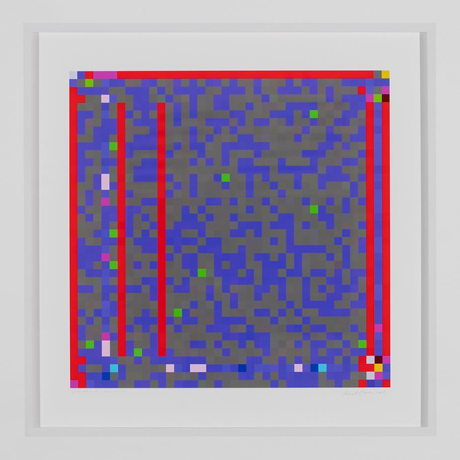 ROBERT OWEN   Jazz Junction #16/3  2014-2016 Inkjet print on 310gsm 80 x 80 cm