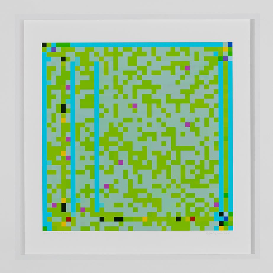 ROBERT OWEN   Jazz Junction #16/9  2014-2016 Inkjet print on 310gsm 80 x 80 cm