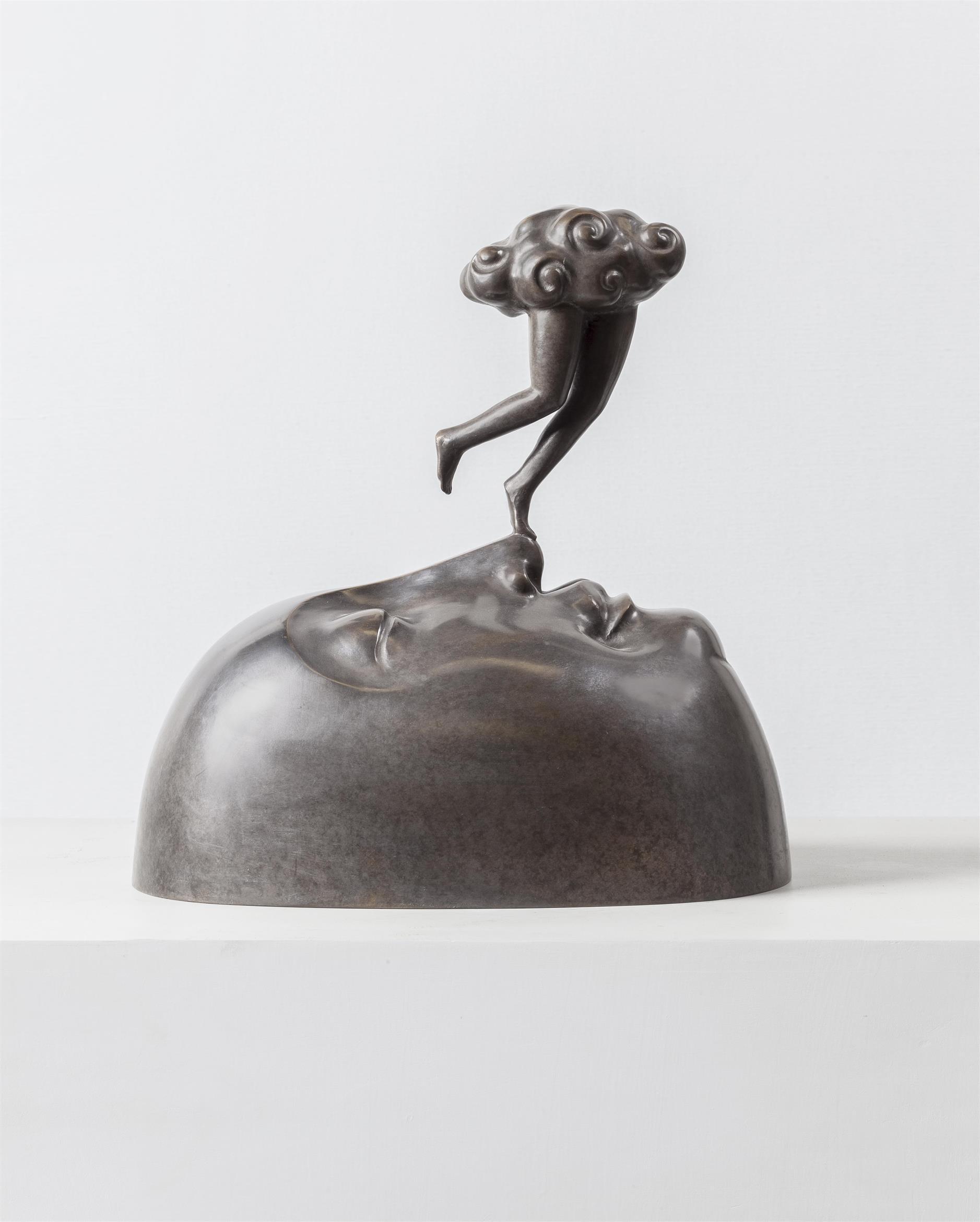 GUAN WEI   Salvation No.1  2015 bronze sculpture 33 x 19 x 32 cm