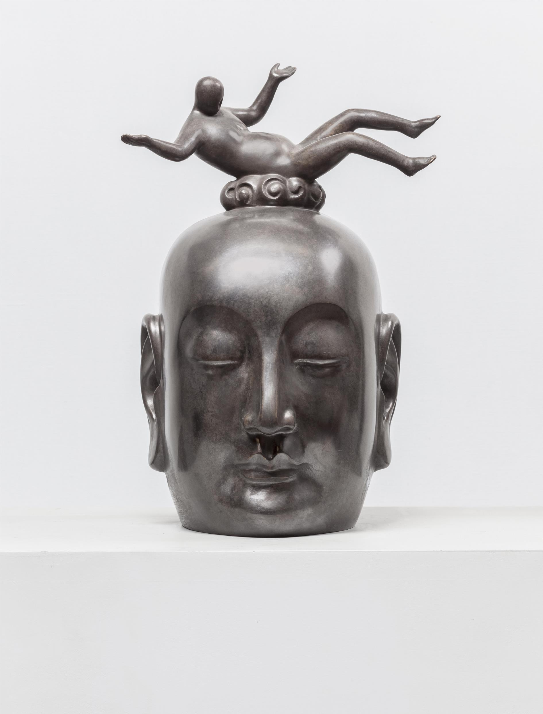 GUAN WEI   Salvation No.3  2015 bronze sculpture 45 x 28 x 24 cm