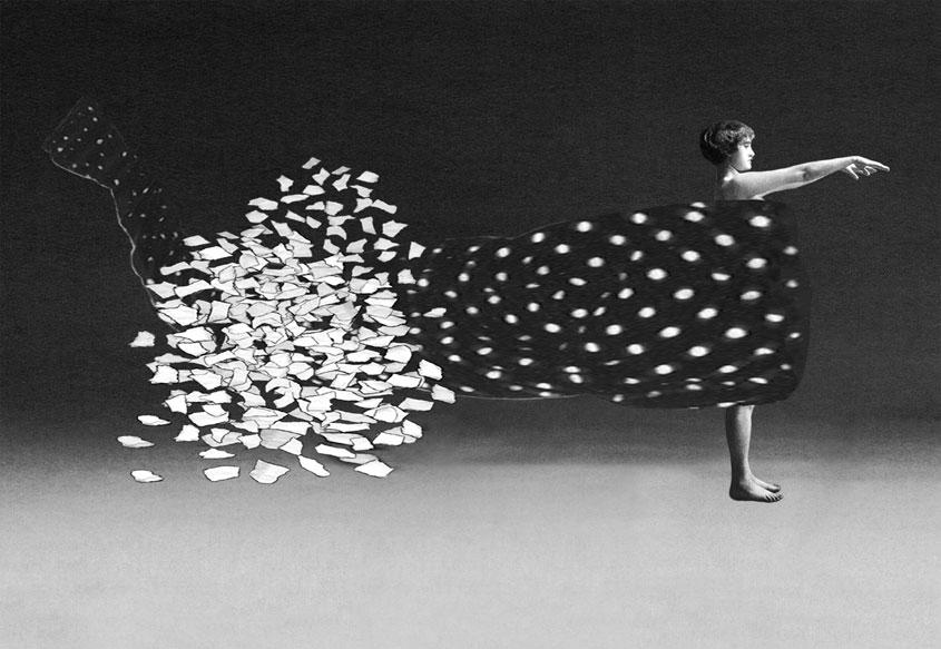 Pat Brassington, The Flight of the Duchess ,2013, pigment print,83 x 120 cm.