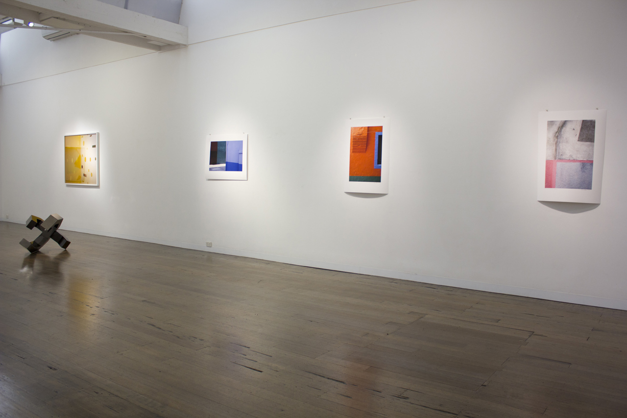 IN THE WHITE SQUARE  Installation view