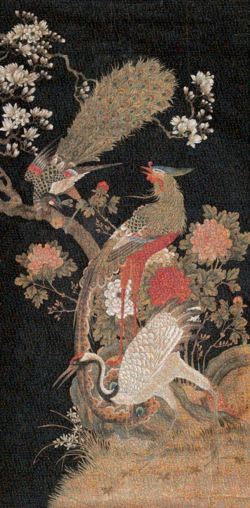 GUO JIAN   The Birds No.5  2016 Inkjet pigment print 200 cm x 98.5 cm