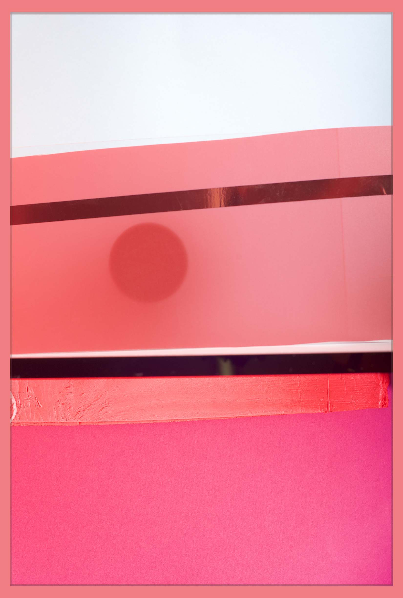 LYDIA WEGNER   Circle Haze  2017 Archival inkjet print 80 x 53.5 cm