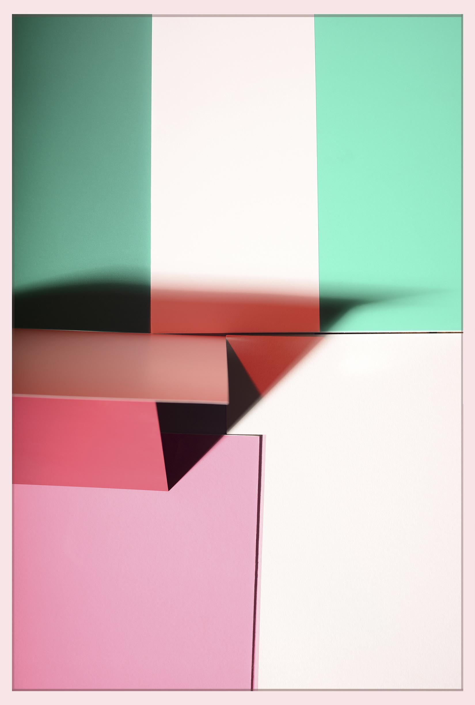 LYDIA WEGNER   Green Stripe  2017 Archival inkjet print 90 x 60 cm