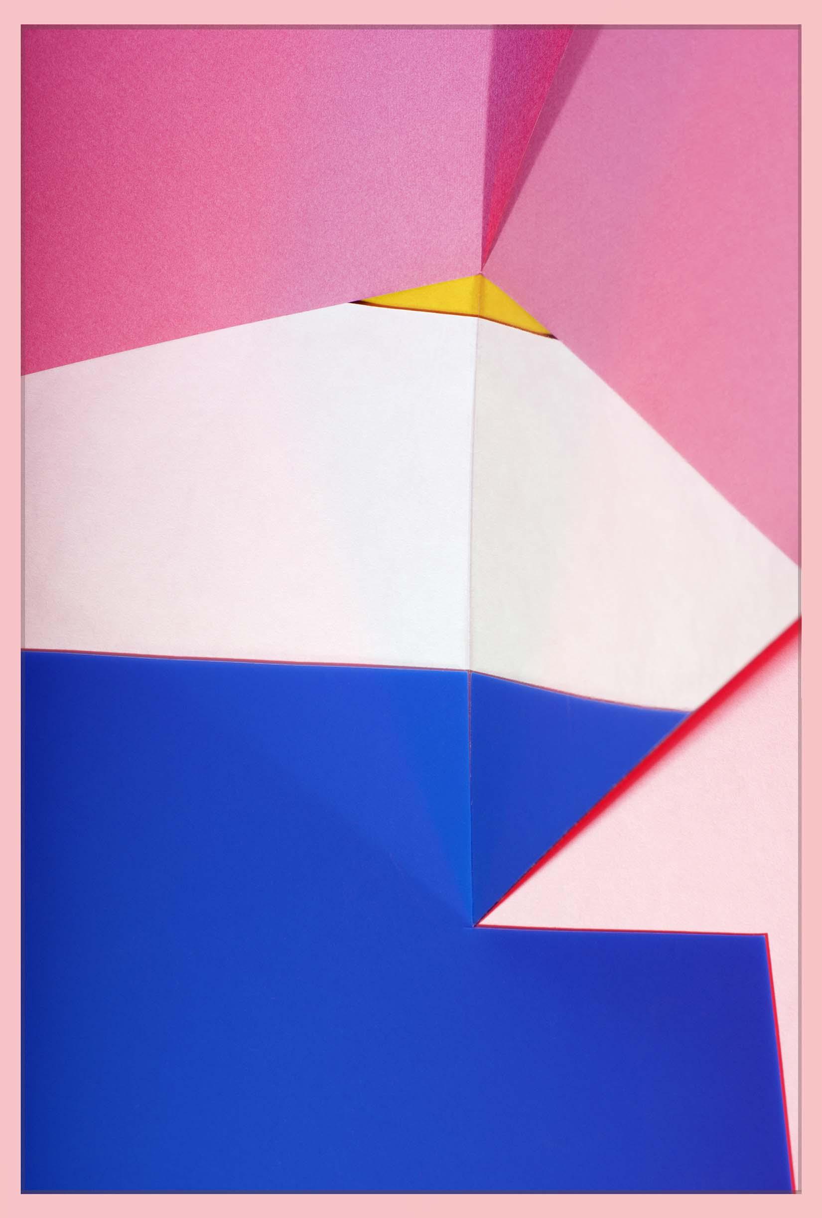 LYDIA WEGNER   Pink Fold  2017 Archival inkjet print 90 x 60 cm