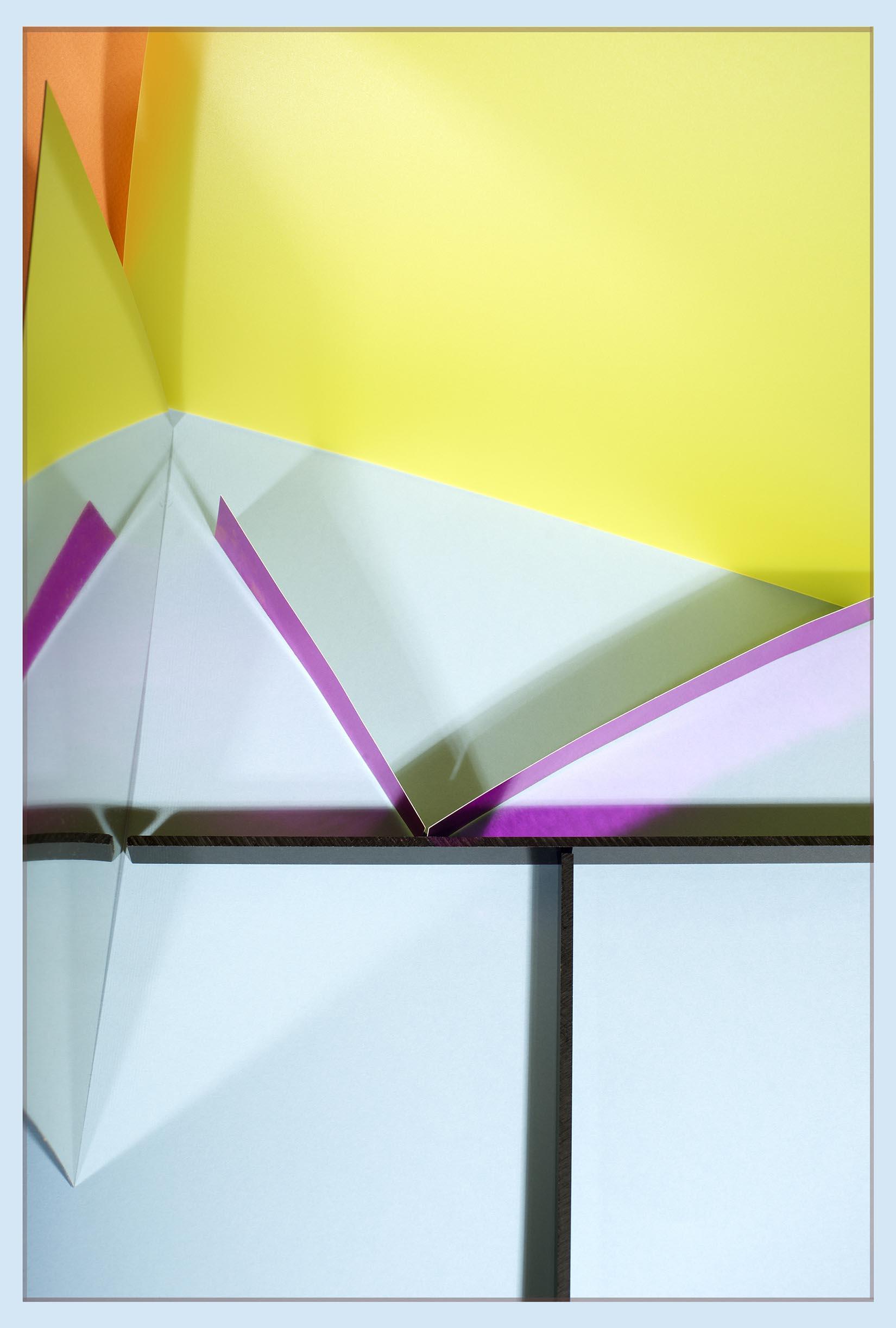 LYDIA WEGNER   Purple Point  2017 Archival inkjet print 80 x 53.5 cm
