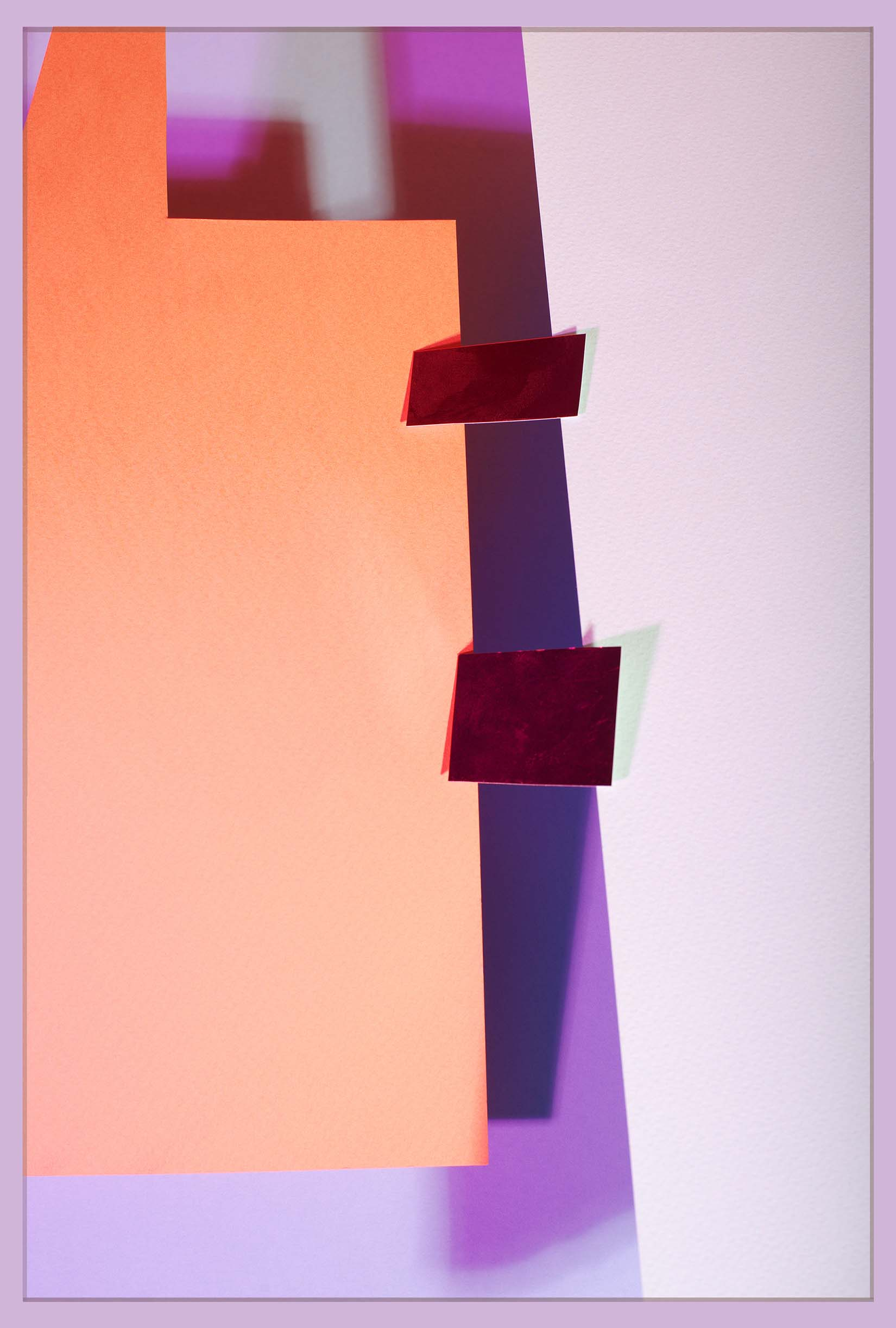 LYDIA WEGNER   Purple Square  2017 Archival inkjet print 80 x 53.5 cm
