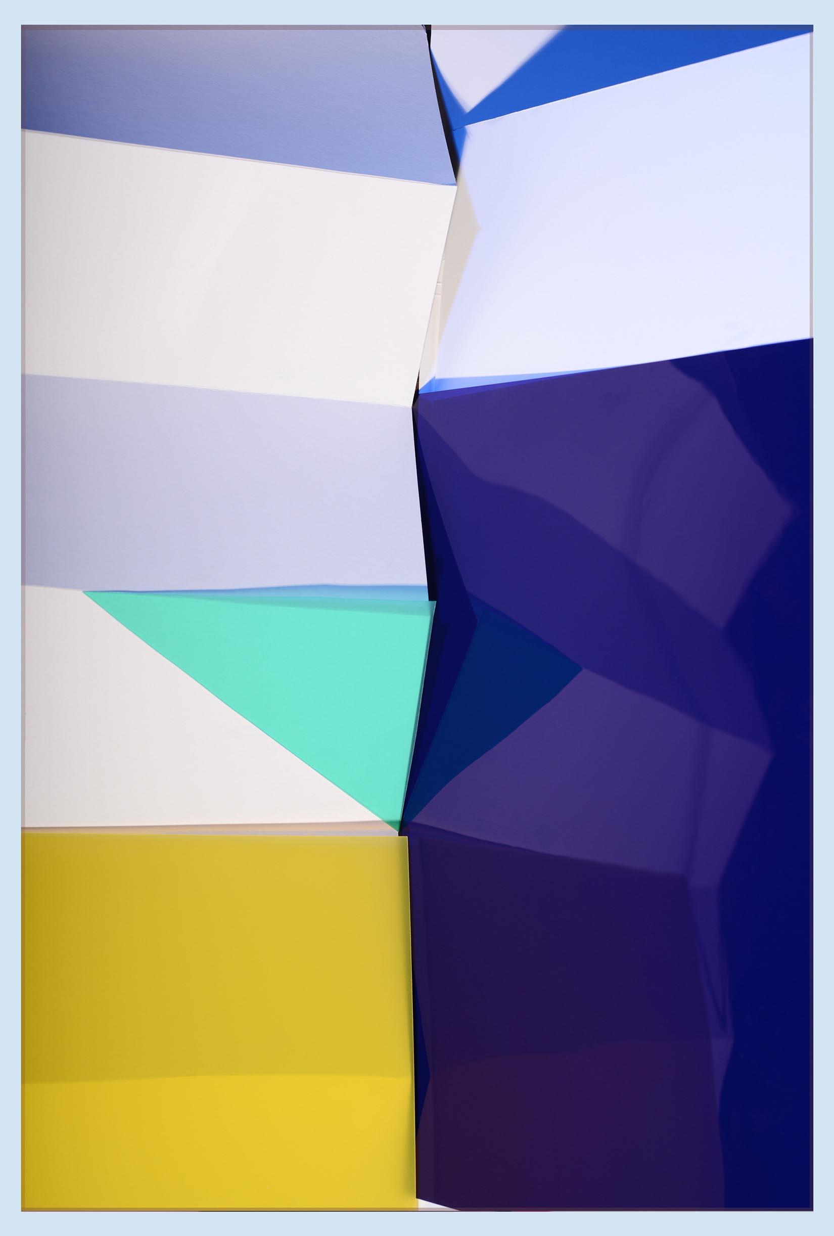 LYDIA WEGNER   Yellow Block  2017 Archival inkjet print 90 x 60 cm