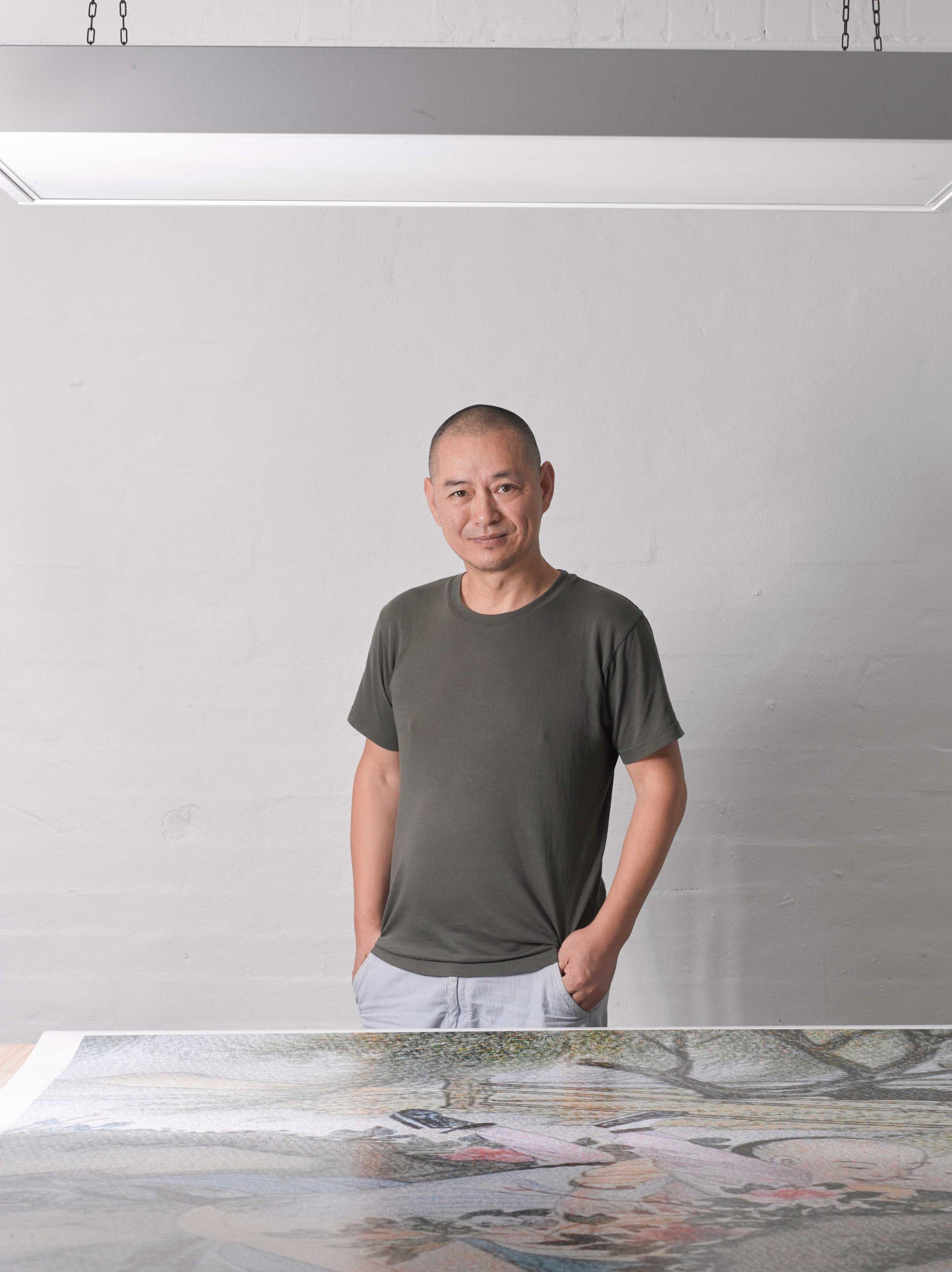 Guo Jian. Photo by Peter Diseris
