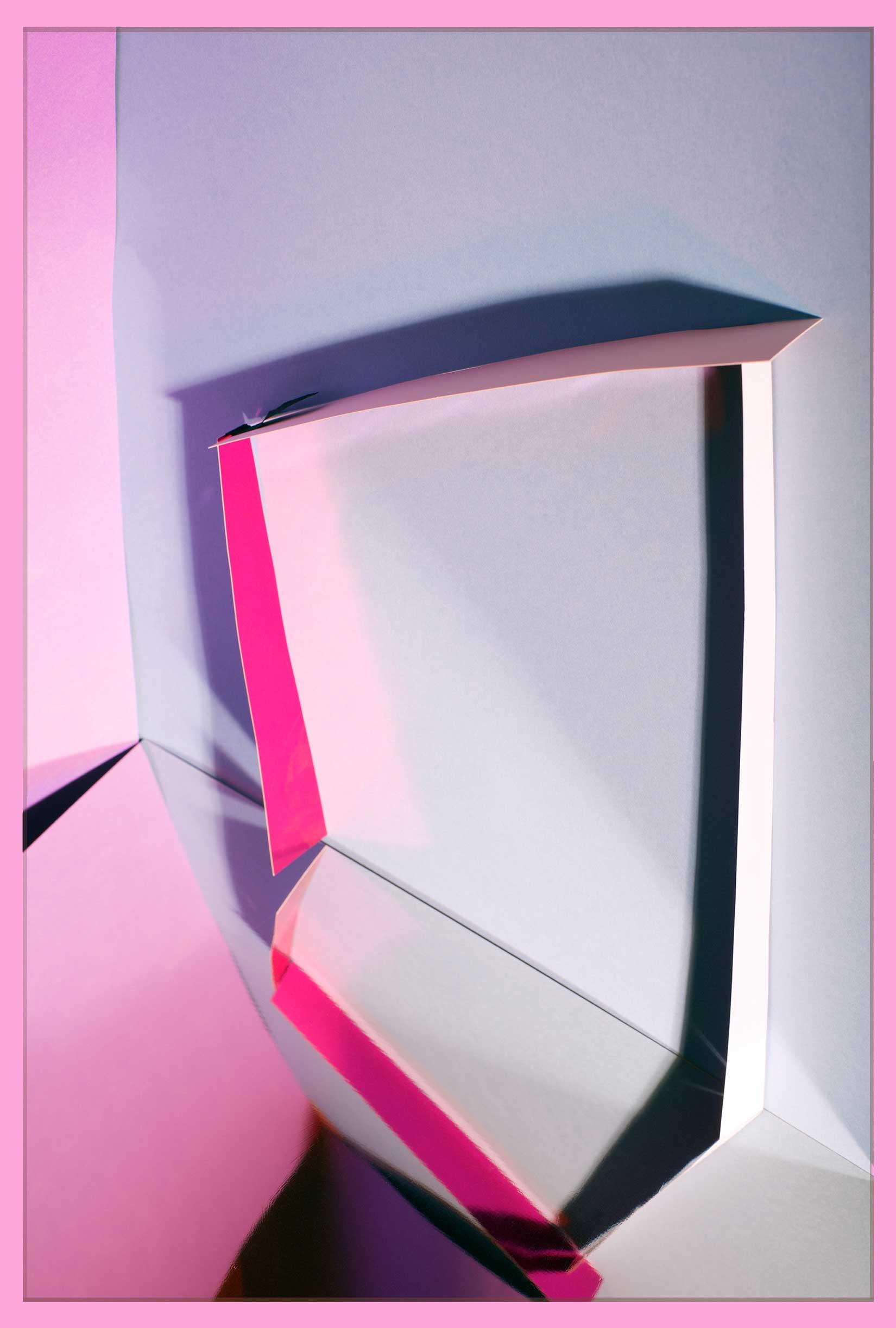 LYDIA WEGNER   Pink Hoop  2017 Archival inkjet print 80 x 53.5 cm