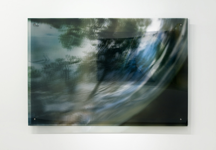 JANET LAURENCE   The Memory in Glass  2008 Duraclear, polished aluminium, acrylic 100 x 150 cm