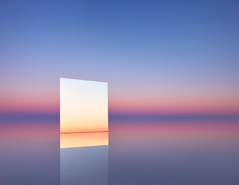 MURRAY FREDERICKS   Mirror 16  2017 Digital pigment print 120 x 155 cm